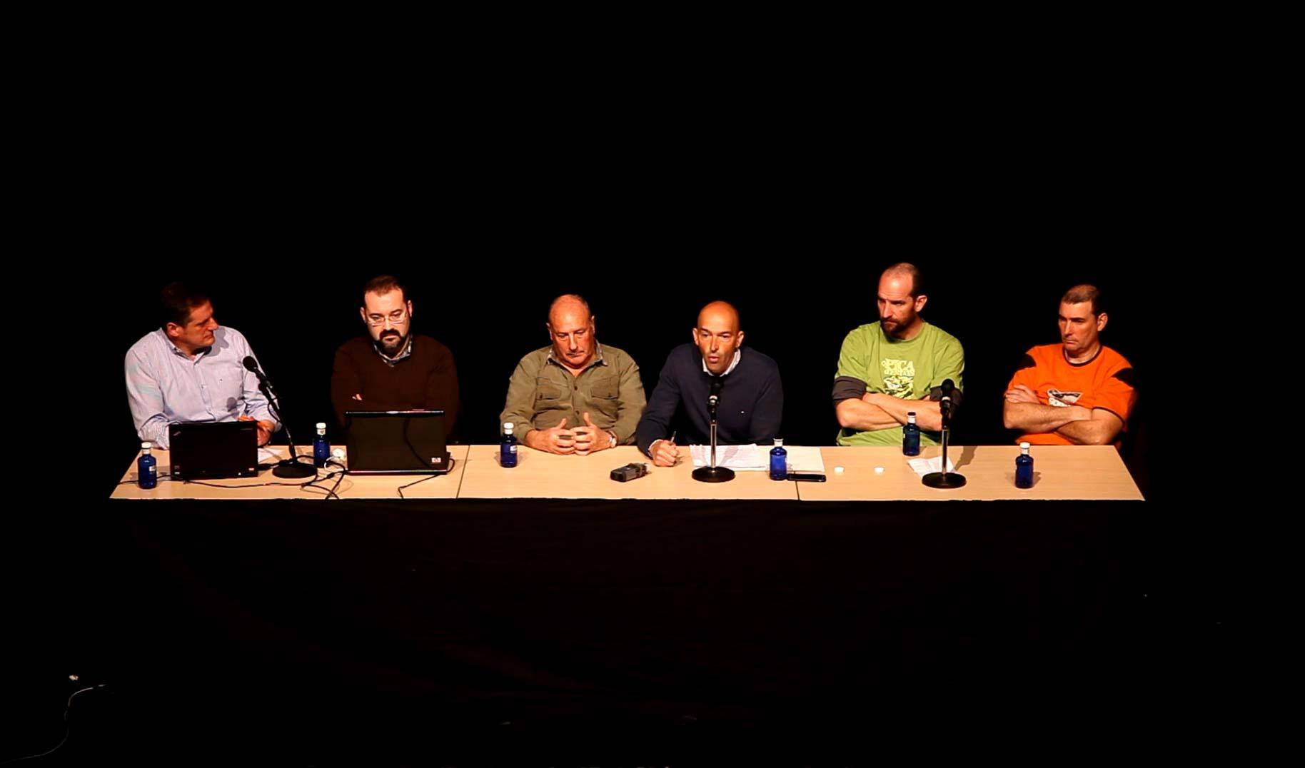Intervencion de JOsé MIguel Flores en la XI Gala de Becaderos de Amurrio