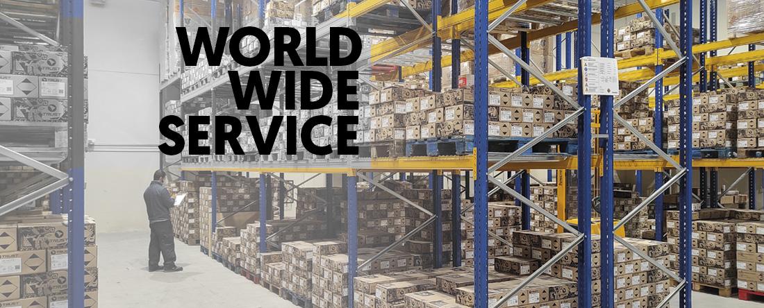Service mondial